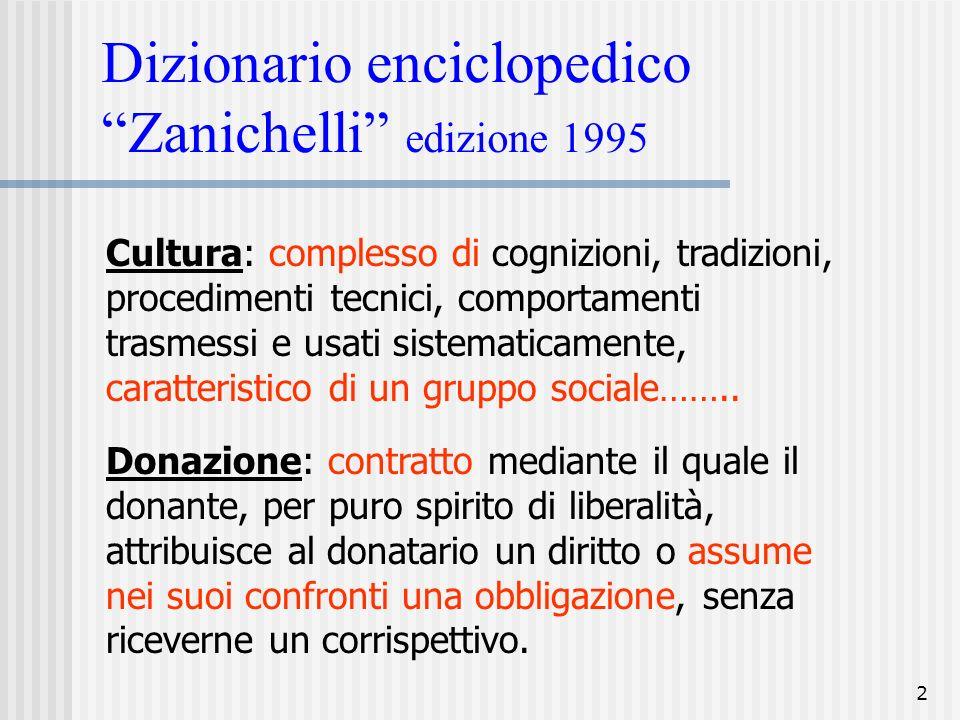 Dizionario enciclopedico Zanichelli edizione 1995