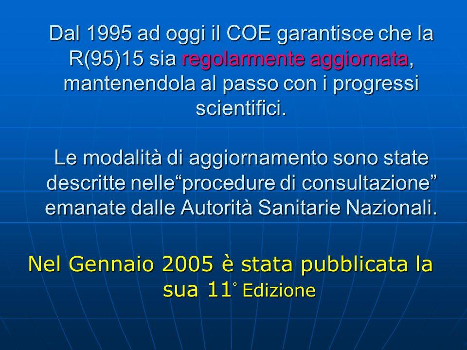 Nel Gennaio 2005 è stata pubblicata la sua 11° Edizione