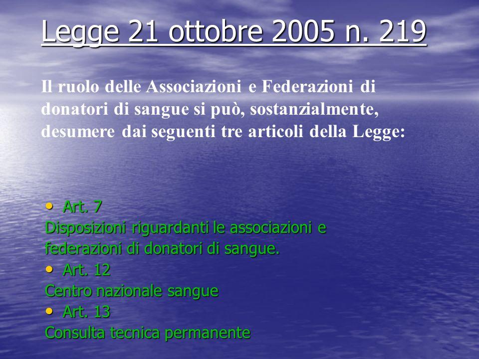 Legge 21 ottobre 2005 n. 219