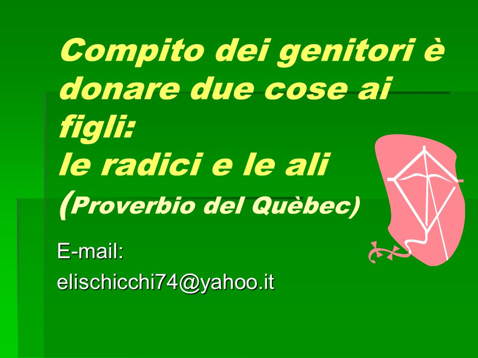 E-mail: elischicchi74@yahoo.it