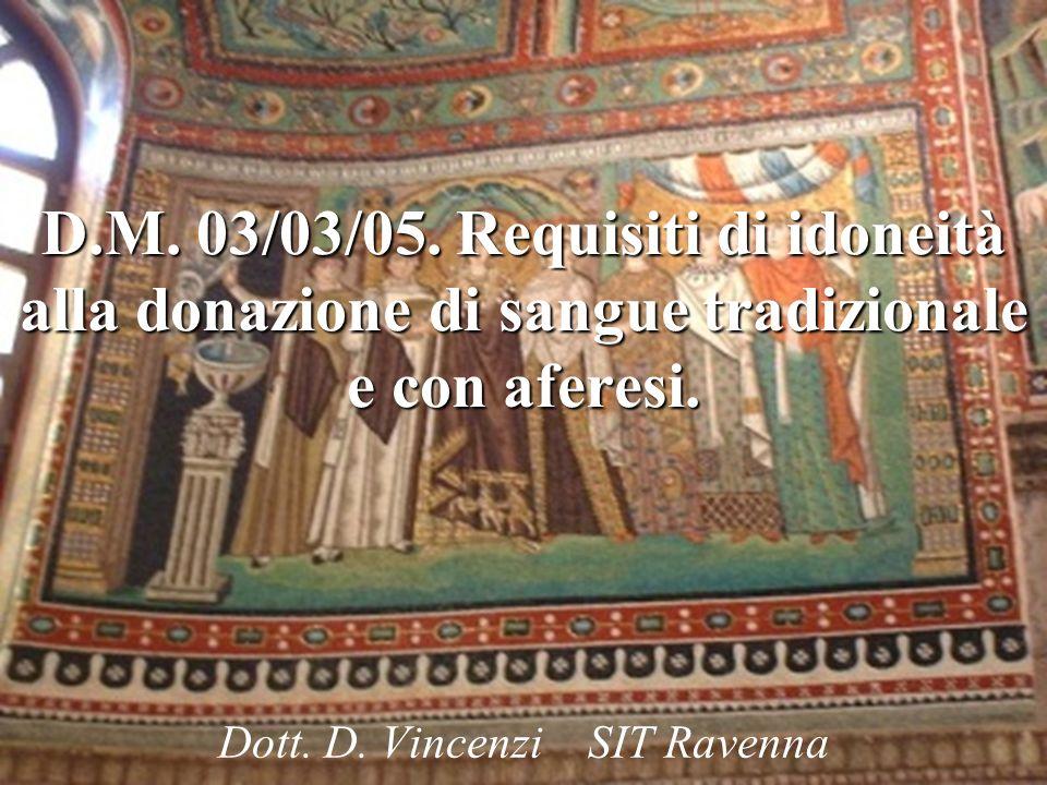 Dott. D. Vincenzi SIT Ravenna