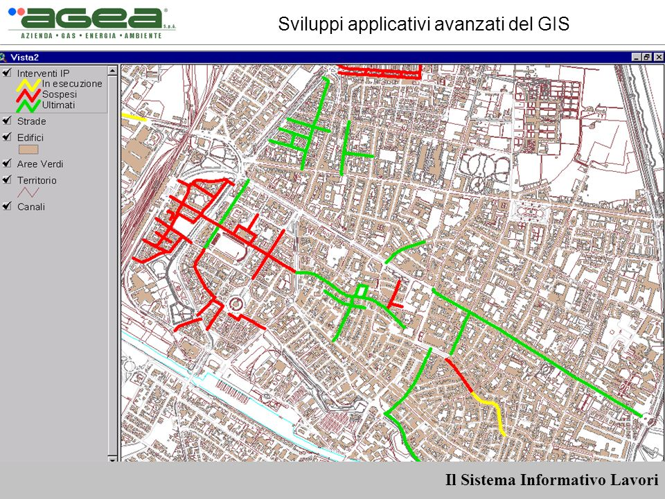 Sviluppi applicativi avanzati del GIS