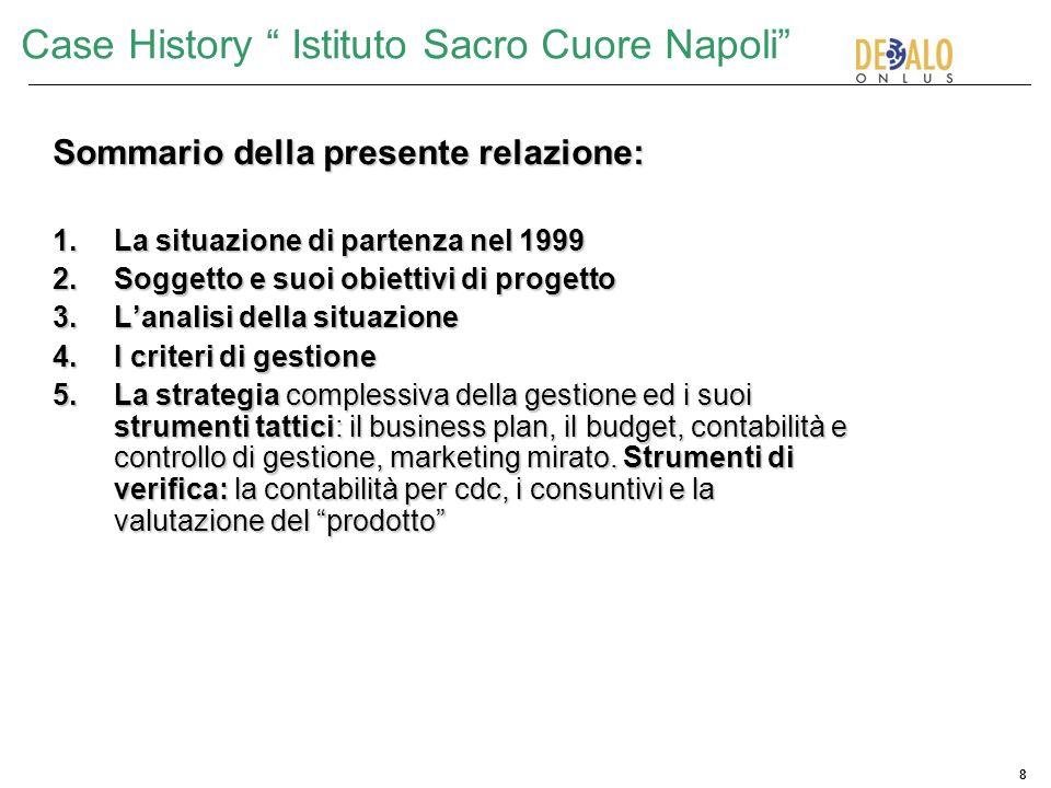 Case History Istituto Sacro Cuore Napoli