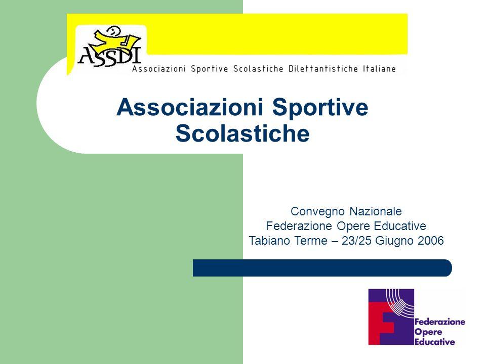 Associazioni Sportive Scolastiche
