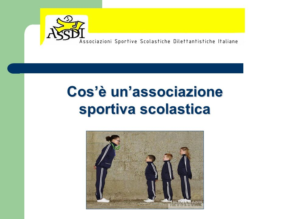 Cos'è un'associazione sportiva scolastica