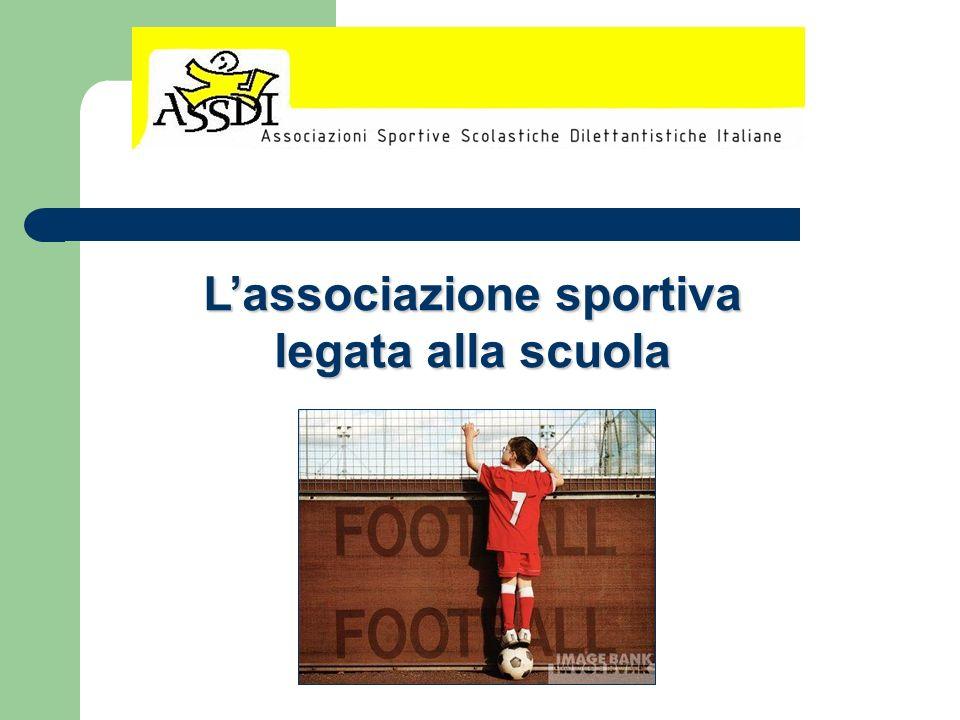 L'associazione sportiva legata alla scuola