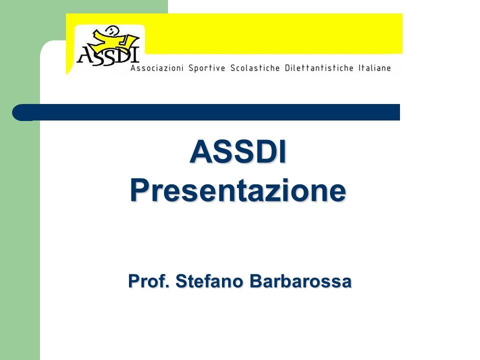 ASSDI Presentazione Prof. Stefano Barbarossa