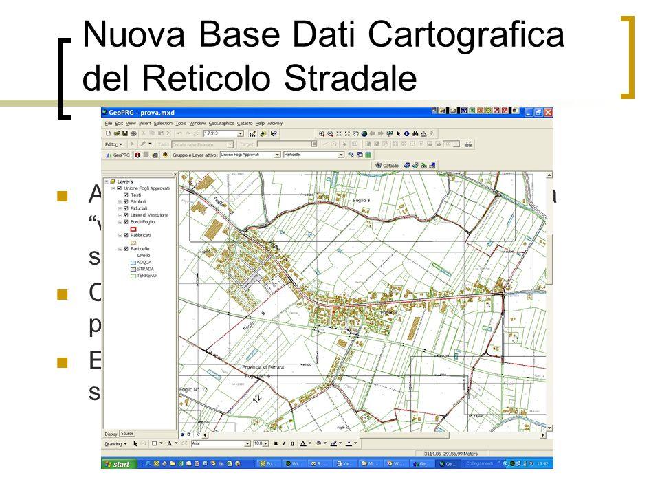 Nuova Base Dati Cartografica del Reticolo Stradale