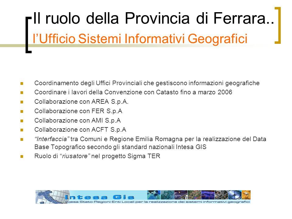 Il ruolo della Provincia di Ferrara