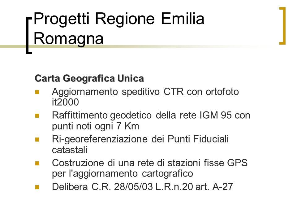 Progetti Regione Emilia Romagna