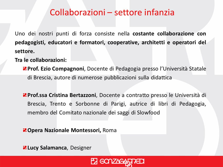 Collaborazioni – settore infanzia