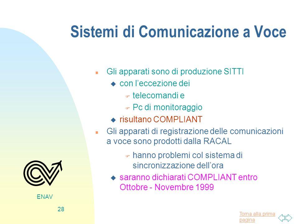 Sistemi di Comunicazione a Voce
