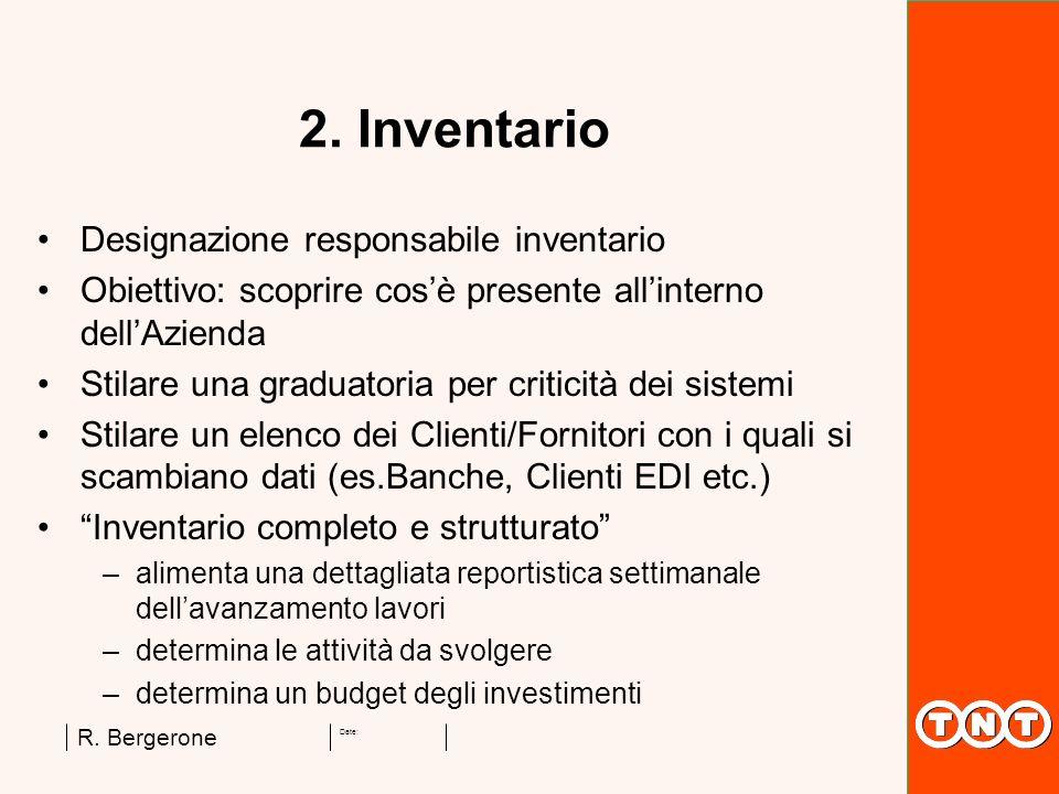 2. Inventario Designazione responsabile inventario