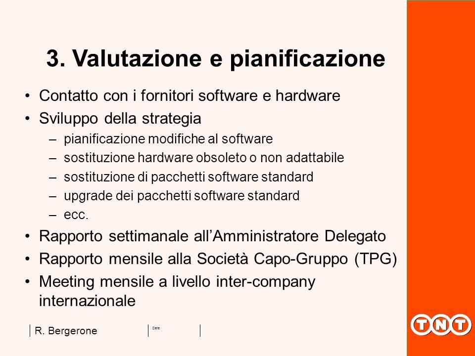 3. Valutazione e pianificazione