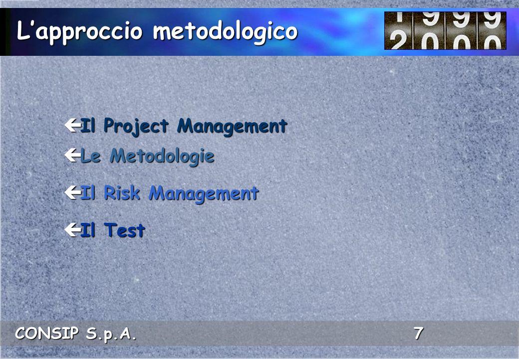 L'approccio metodologico
