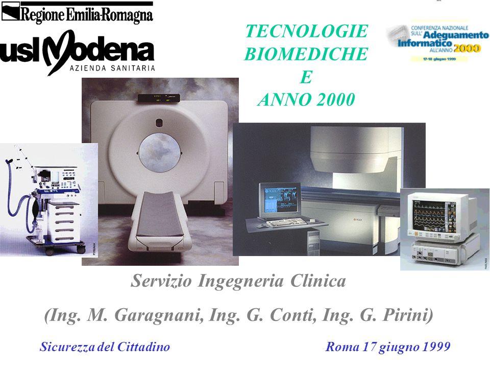 TECNOLOGIE BIOMEDICHE E ANNO 2000