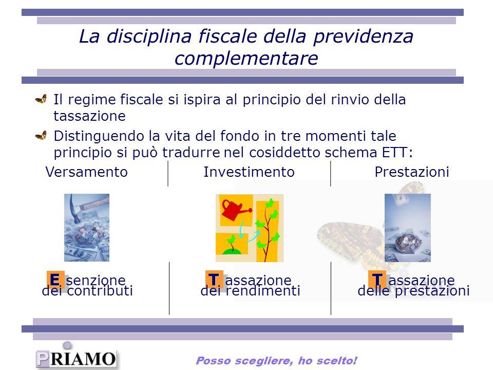 La disciplina fiscale della previdenza complementare