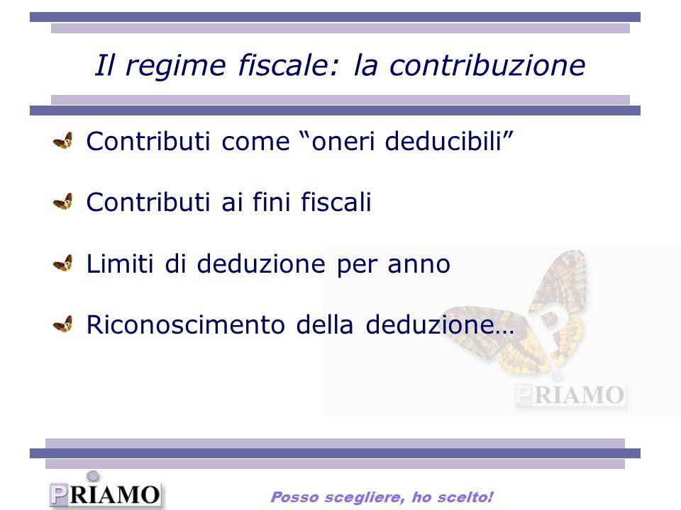 Il regime fiscale: la contribuzione