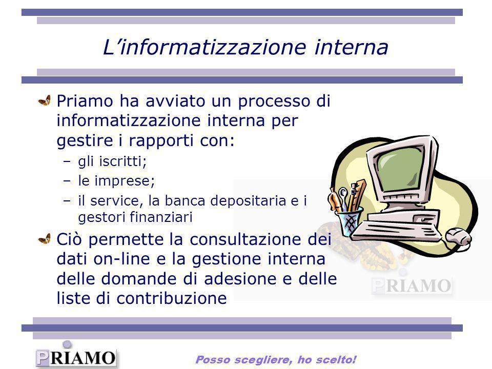 L'informatizzazione interna