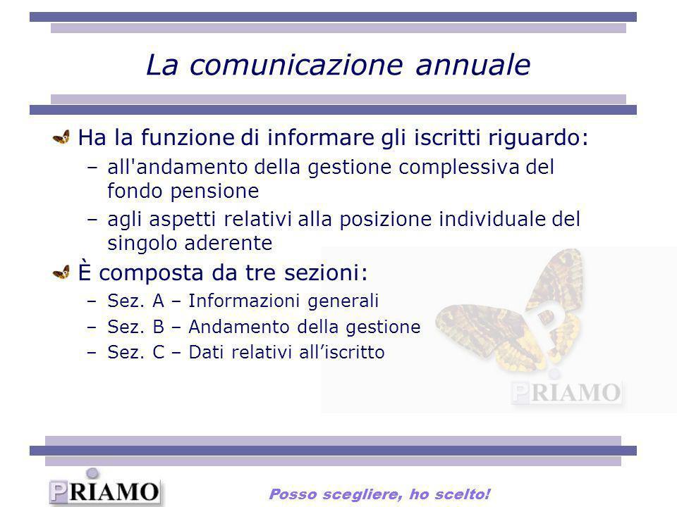 La comunicazione annuale