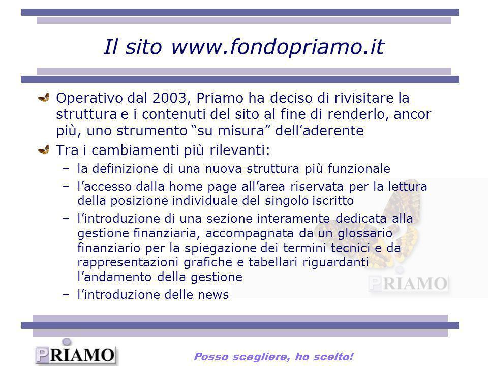 Il sito www.fondopriamo.it