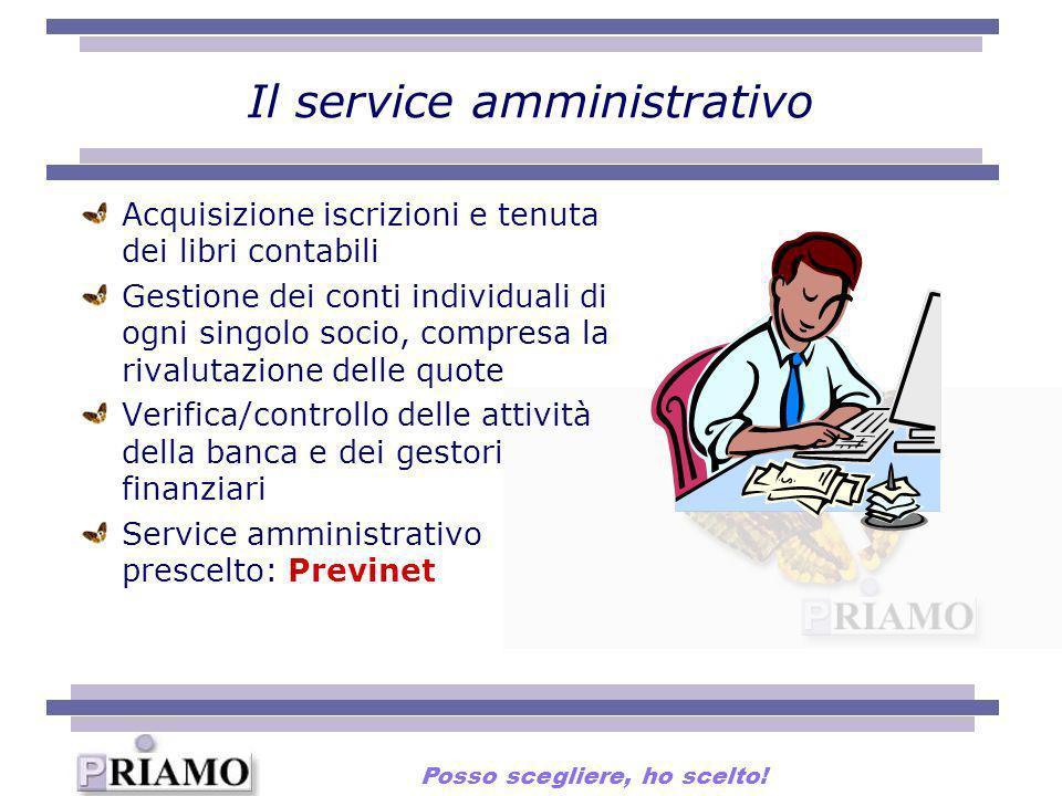 Il service amministrativo