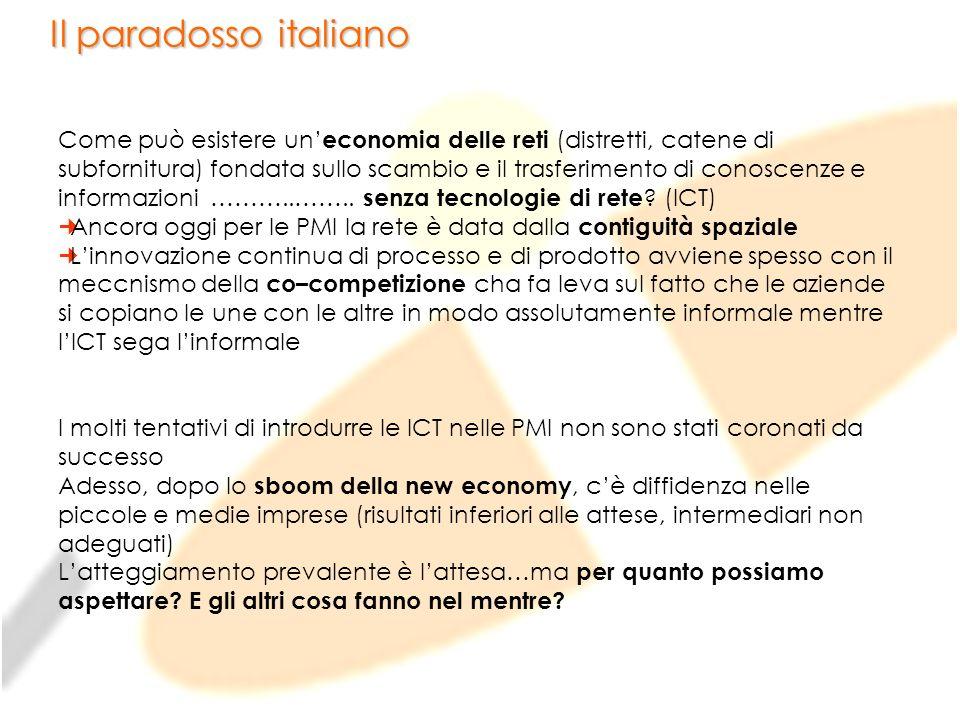 Il paradosso italiano