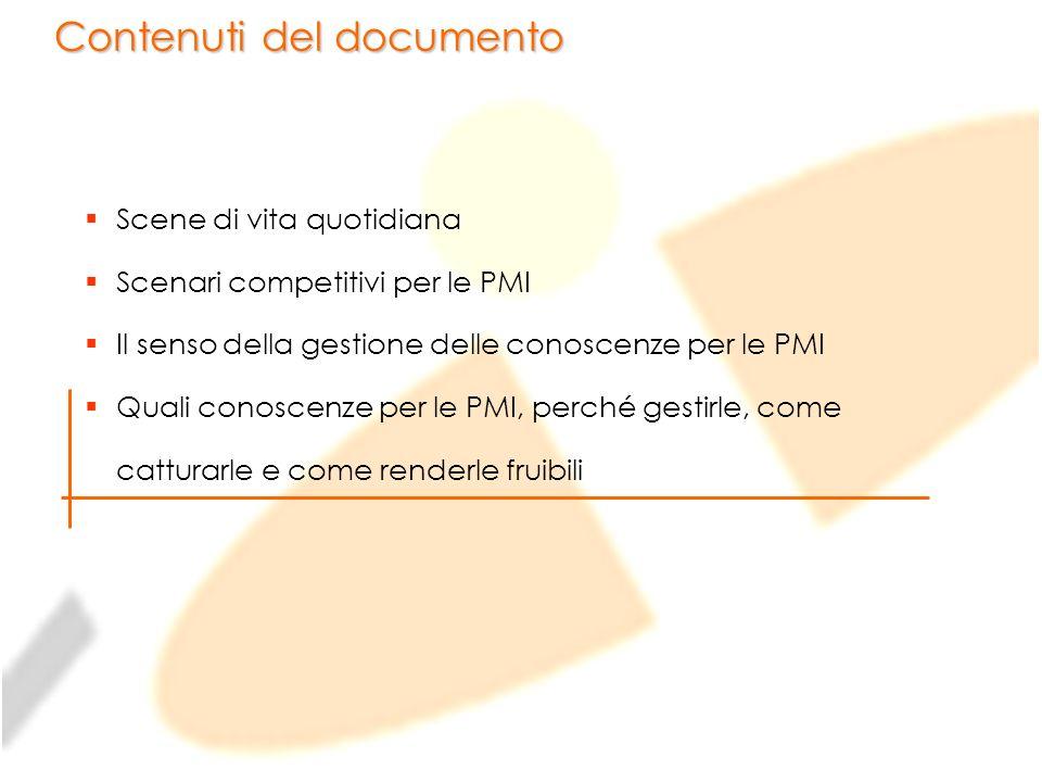 Contenuti del documento