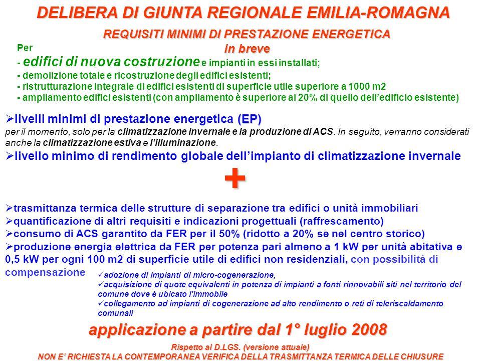 + DELIBERA DI GIUNTA REGIONALE EMILIA-ROMAGNA