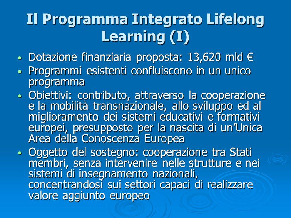Il Programma Integrato Lifelong Learning (I)