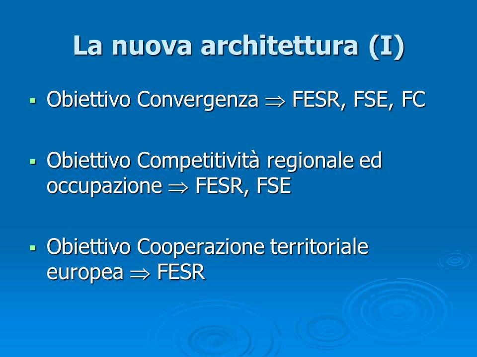 La nuova architettura (I)
