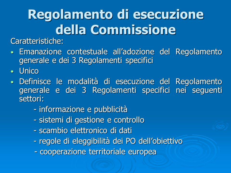 Regolamento di esecuzione della Commissione