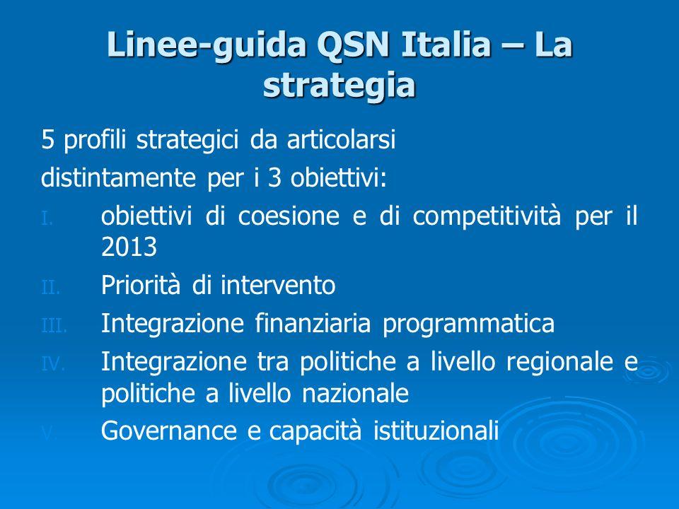 Linee-guida QSN Italia – La strategia