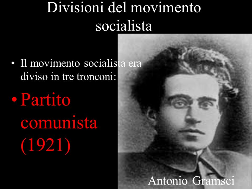 Divisioni del movimento socialista