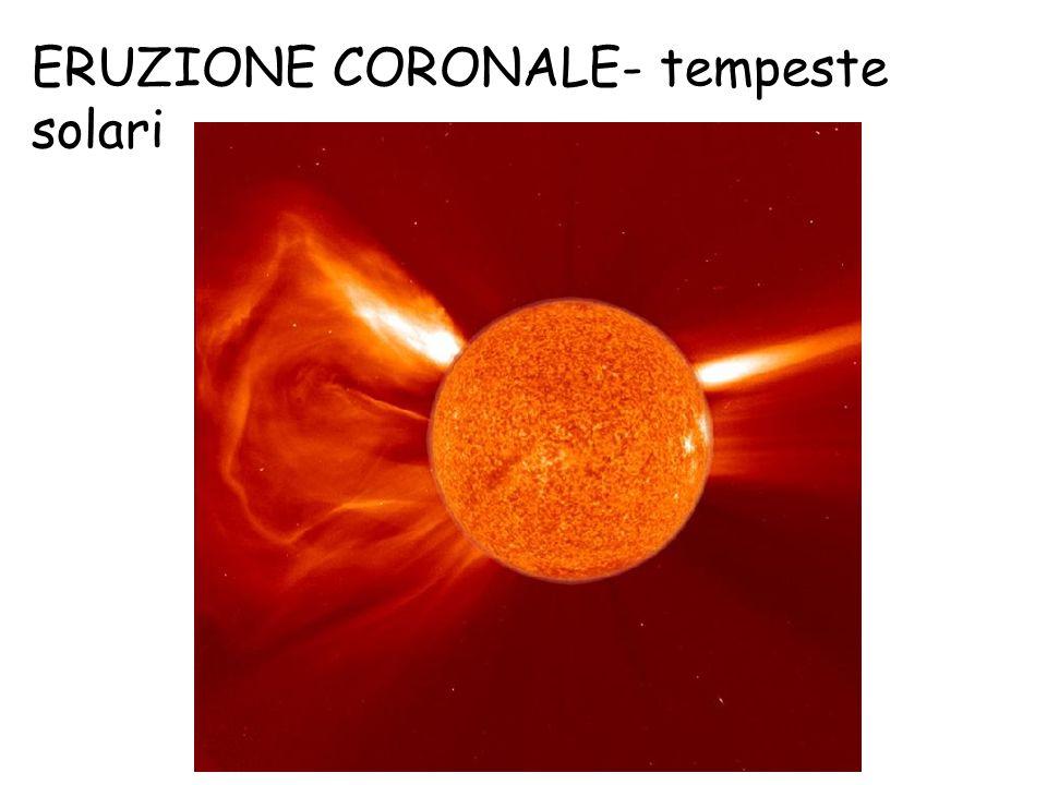 ERUZIONE CORONALE- tempeste solari