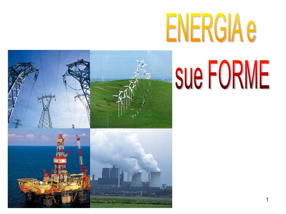 ENERGIA e le sue FORME