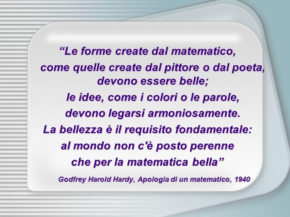 Le forme create dal matematico,