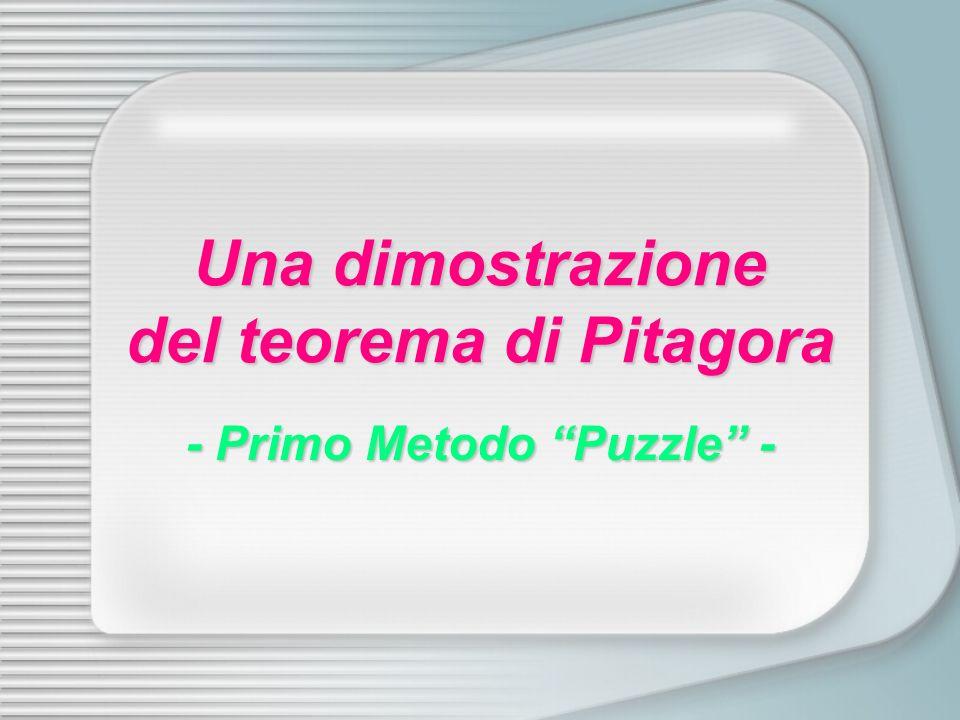 Una dimostrazione del teorema di Pitagora