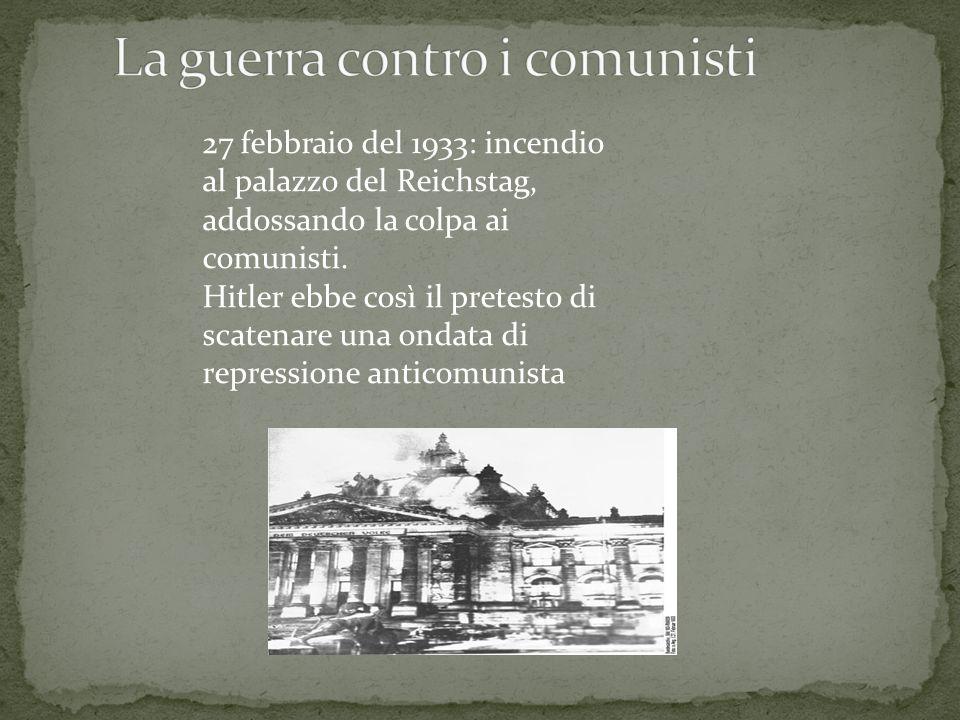 La guerra contro i comunisti