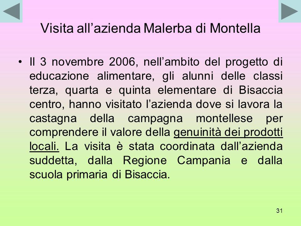 Visita all'azienda Malerba di Montella