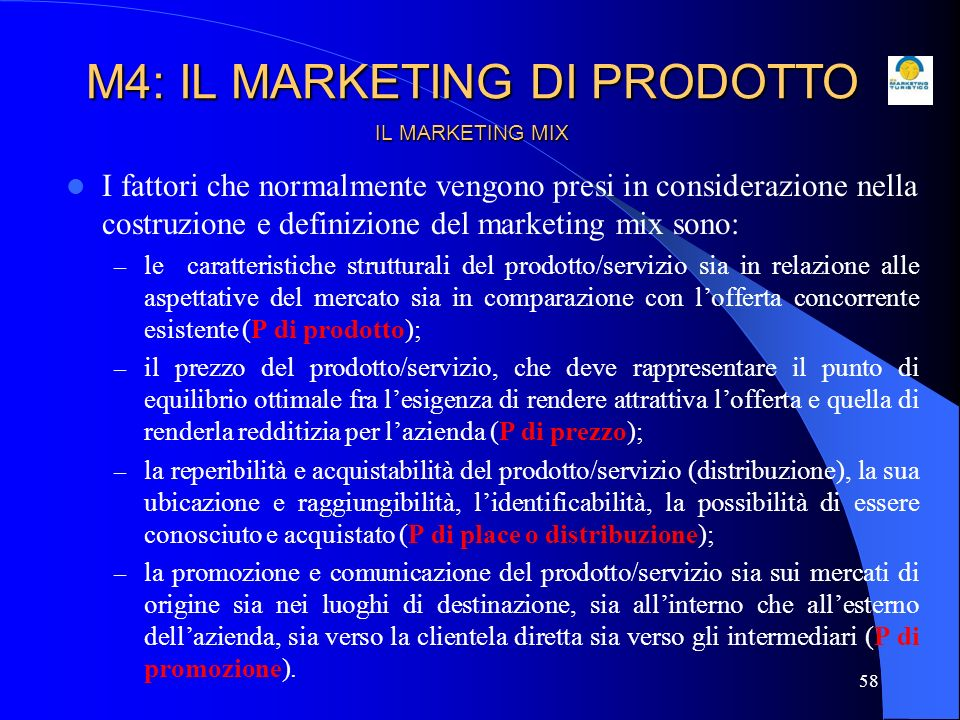 M4: IL MARKETING DI PRODOTTO