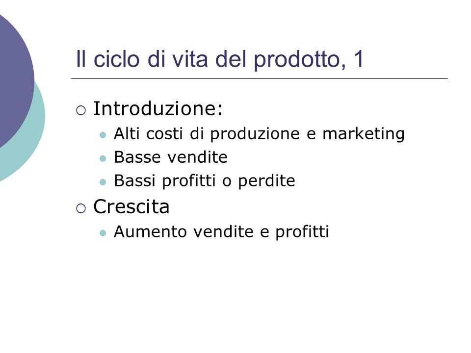 Il ciclo di vita del prodotto, 1
