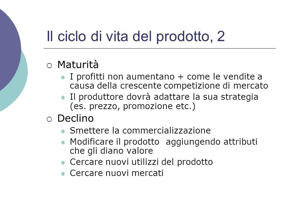 Il ciclo di vita del prodotto, 2