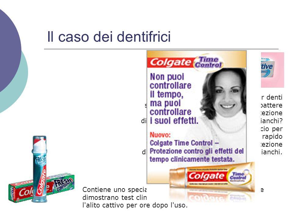 Il caso dei dentifrici
