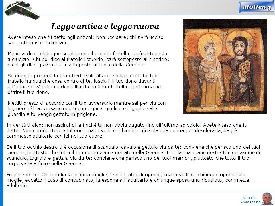 Legge antica e legge nuova