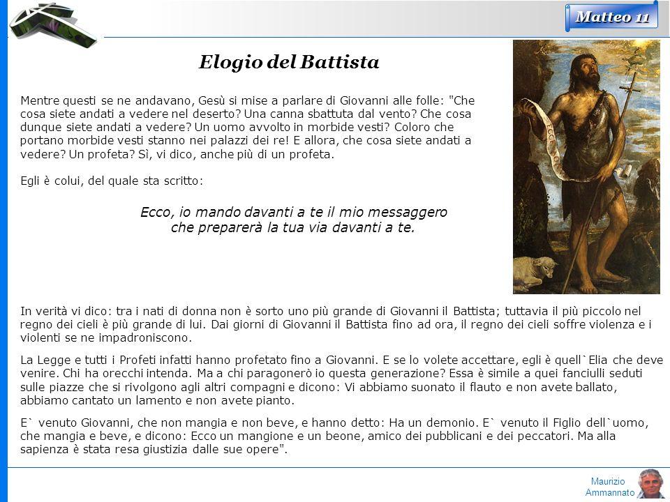 Elogio del Battista Matteo 11