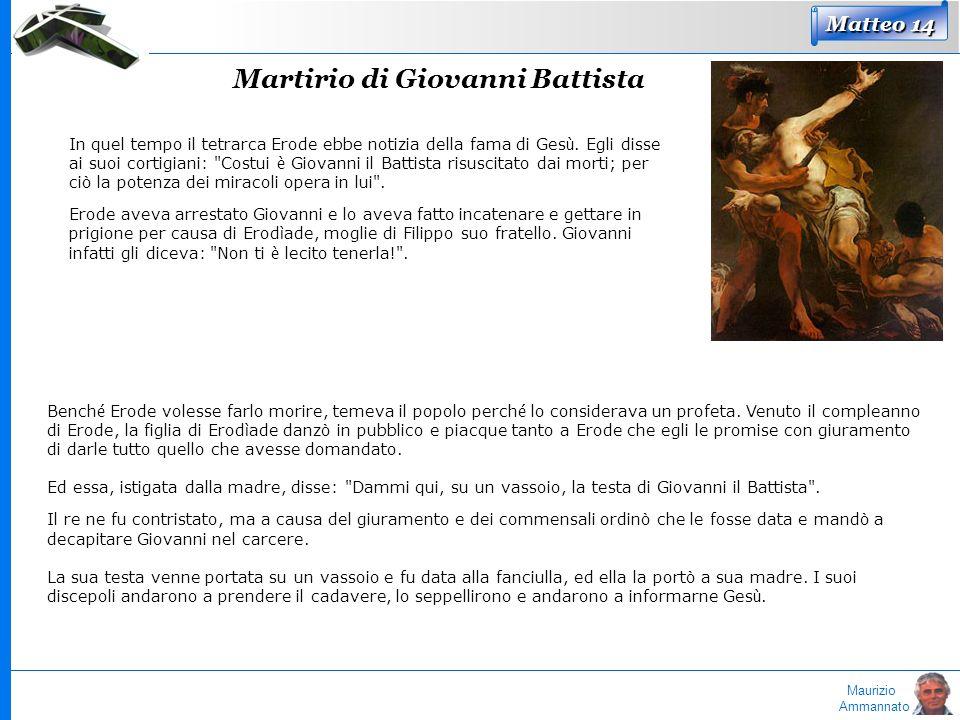 Martirio di Giovanni Battista