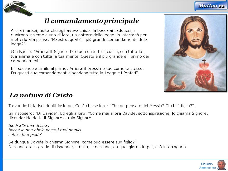 Il comandamento principale