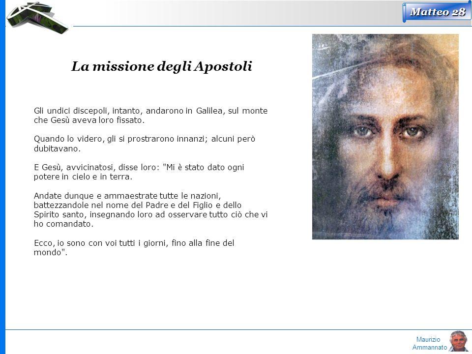 La missione degli Apostoli