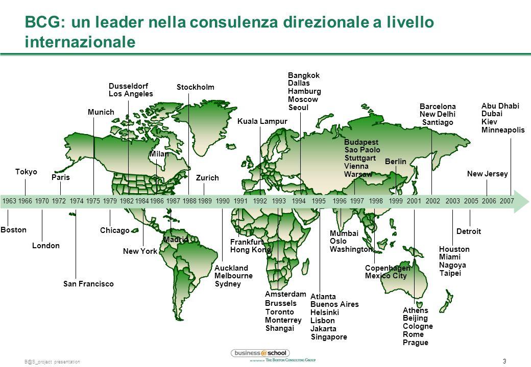 BCG: un leader nella consulenza direzionale a livello internazionale